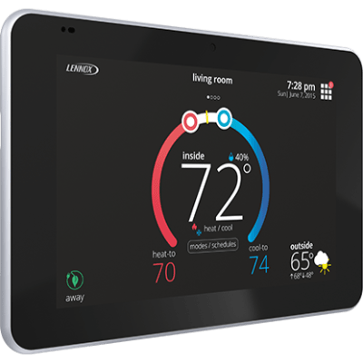 Lennox iComfort E30 thermostat.