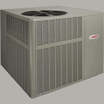 Lennox LRP16GE packaged unit.